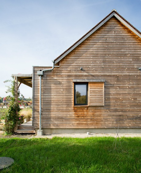 Revêtement de façade bois