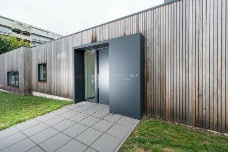 Revêtement de façade métal
