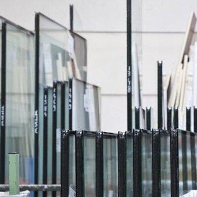 Glas houten kozijnen