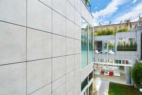 Revêtement de façade béton architectonique