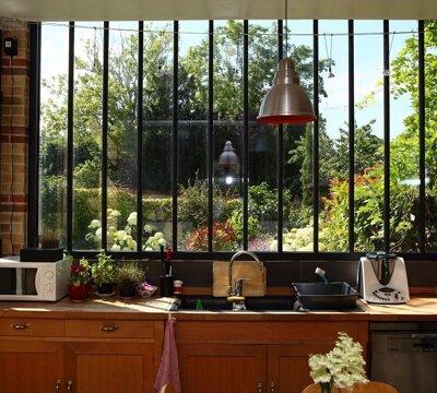Look industriel fenêtres
